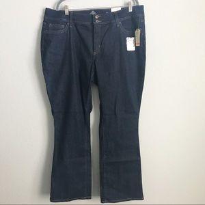 NWT St John's Bay Women's Bootcut Jeans